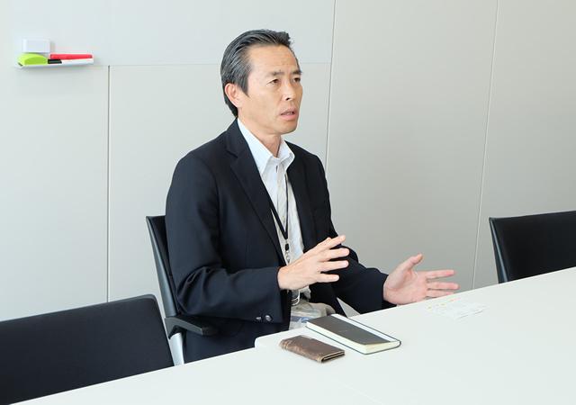 朝日オリコミ大阪 取締役 営業・新事業担当 中越 貴久様